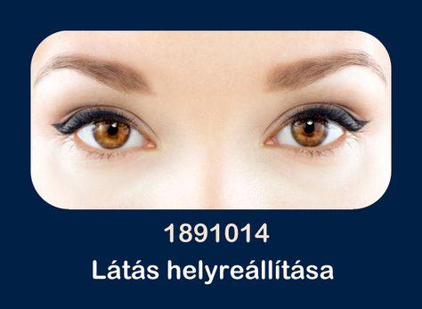 a látás helyreállítása sikeres volt)
