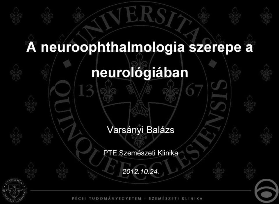 látás a neurológiában)