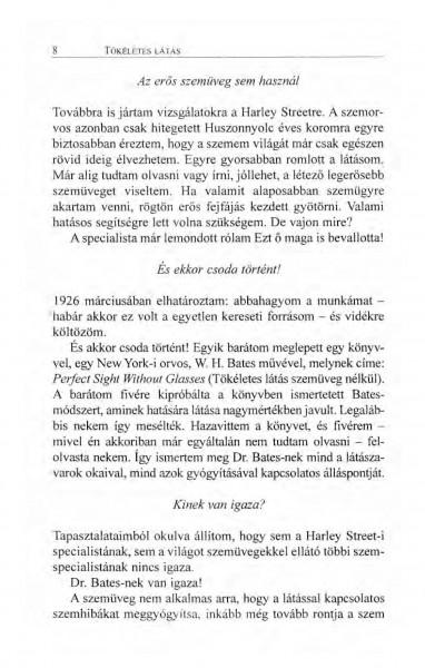 látás Bates könyv)