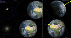 Index - Tudomány - Részleges napfogyatkozás hétfőn