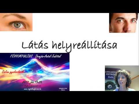 szemmasszázs a látás javítása)