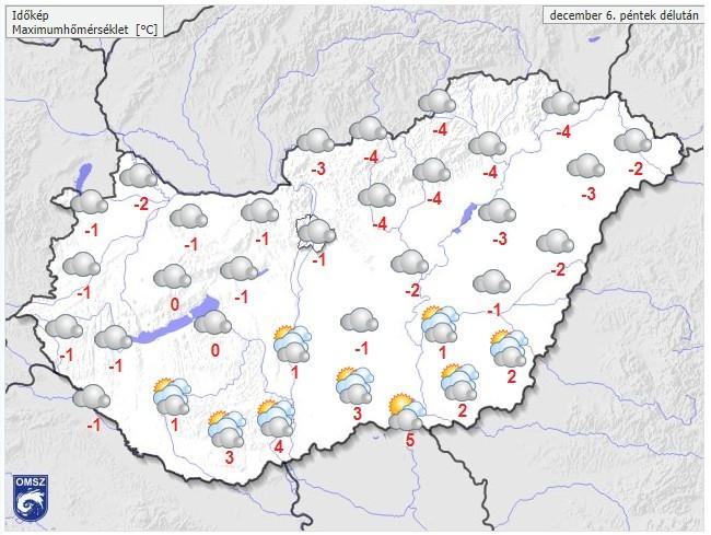 Friss 7 napos időjárás-előrejelzés - Kiderül, várható-e havazás január 2. hetében - zuii.hu