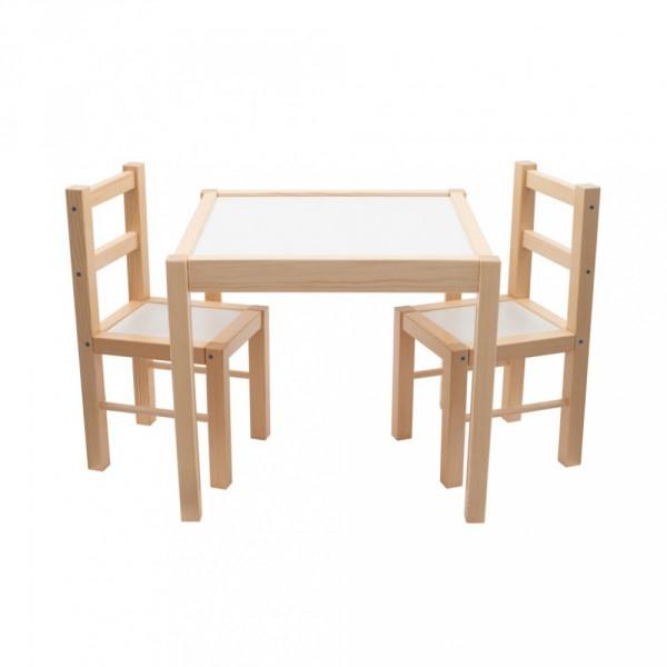 látás w alakú asztal)