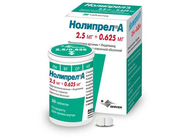 Egy egyedülálló gyógyszer a Noliprel Forte magas vérnyomás kezelésére