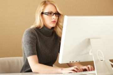 gyenge látás a számítógépről