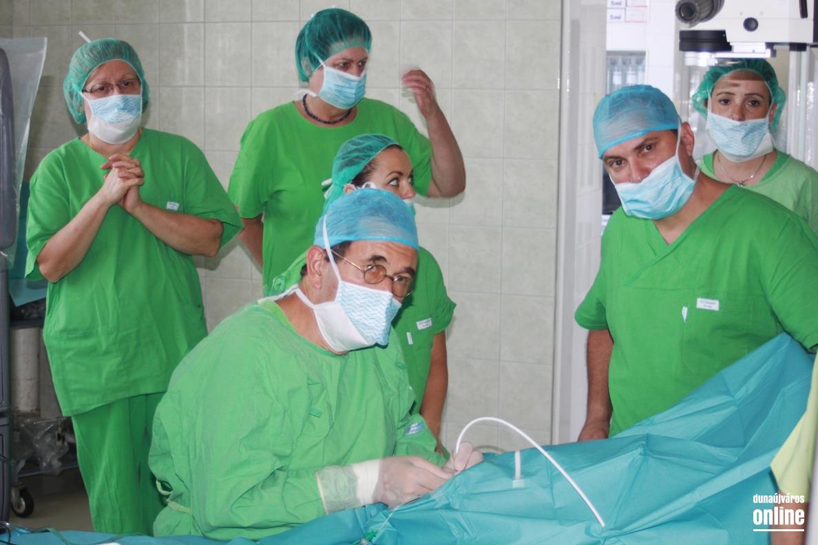 szemész sebész