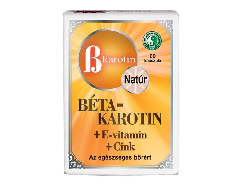 Vita Crystal E-lit Vitamin – Béta-Karotin + Lutein kapszula – 60db