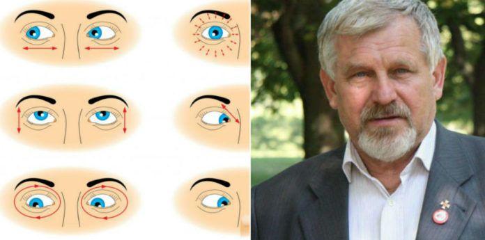 akupresszúrás masszázs a látás javítása érdekében