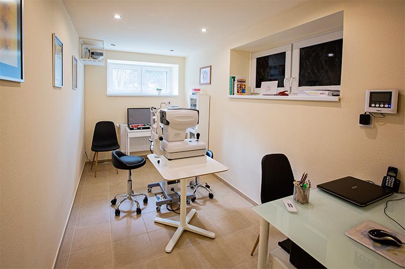 szemészeti iroda