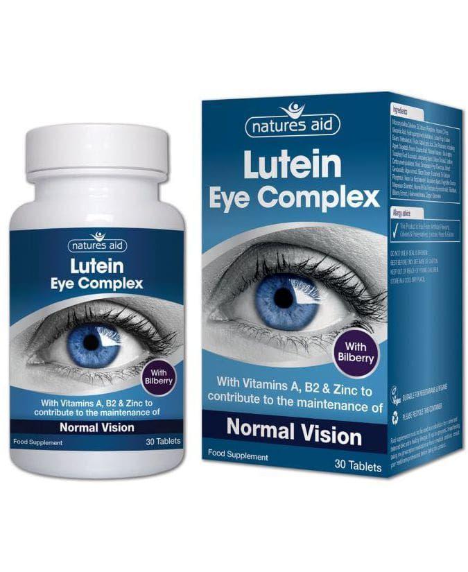 Tudományosan igazolt hatású összetevők a normál látás fenntartására