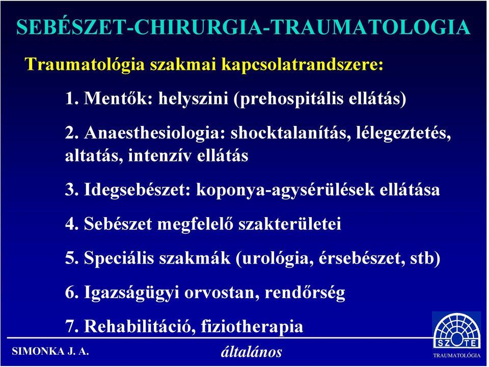 szemészeti ellátás megszervezése)