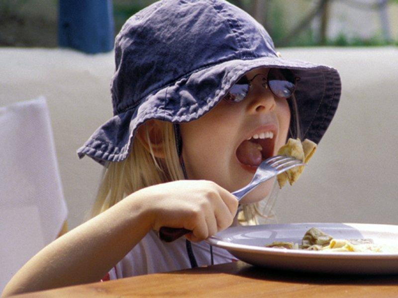 a látvány enni