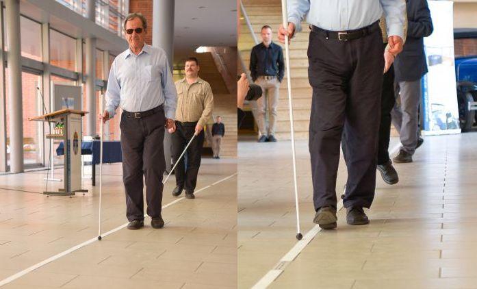 látássérült csíkok
