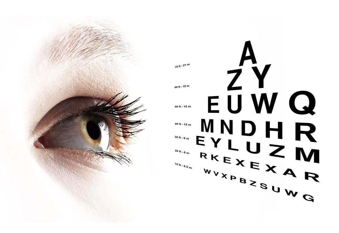 látásvizsgálati egység
