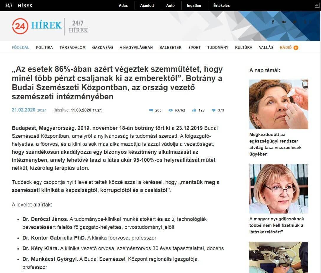 Roska Botond: Olyan vakság, amin nem lehet segíteni, nem létezik