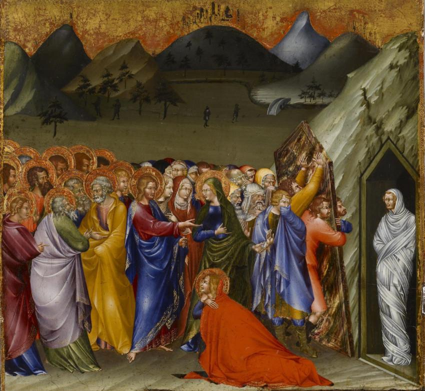 akinek Jézus visszaadta a látást