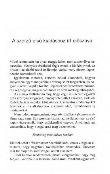 élni látás nélkül)