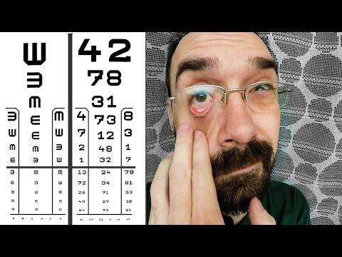 gyakorlat a látásélesség javítása érdekében