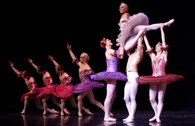 rövidlátás és balett
