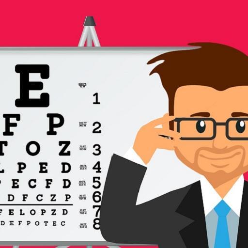 szürkehályog látásának ellenőrzése