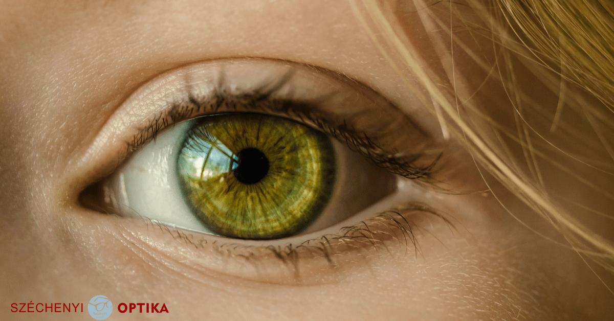 a szem látásélessége)