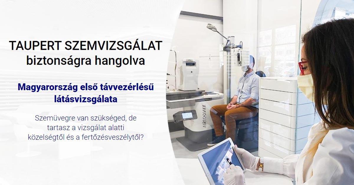 látásvizsgálat a kórházban