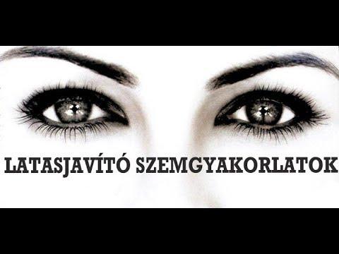 pontmasszázs a látás helyreállítása