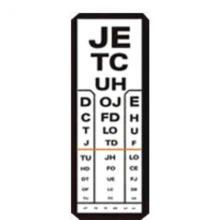 felnőtt látásvizsgálati táblázat és