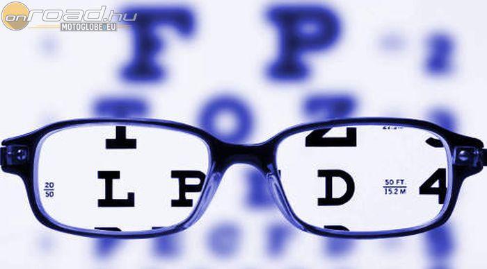 A szemüveg használata mínusz szemmel
