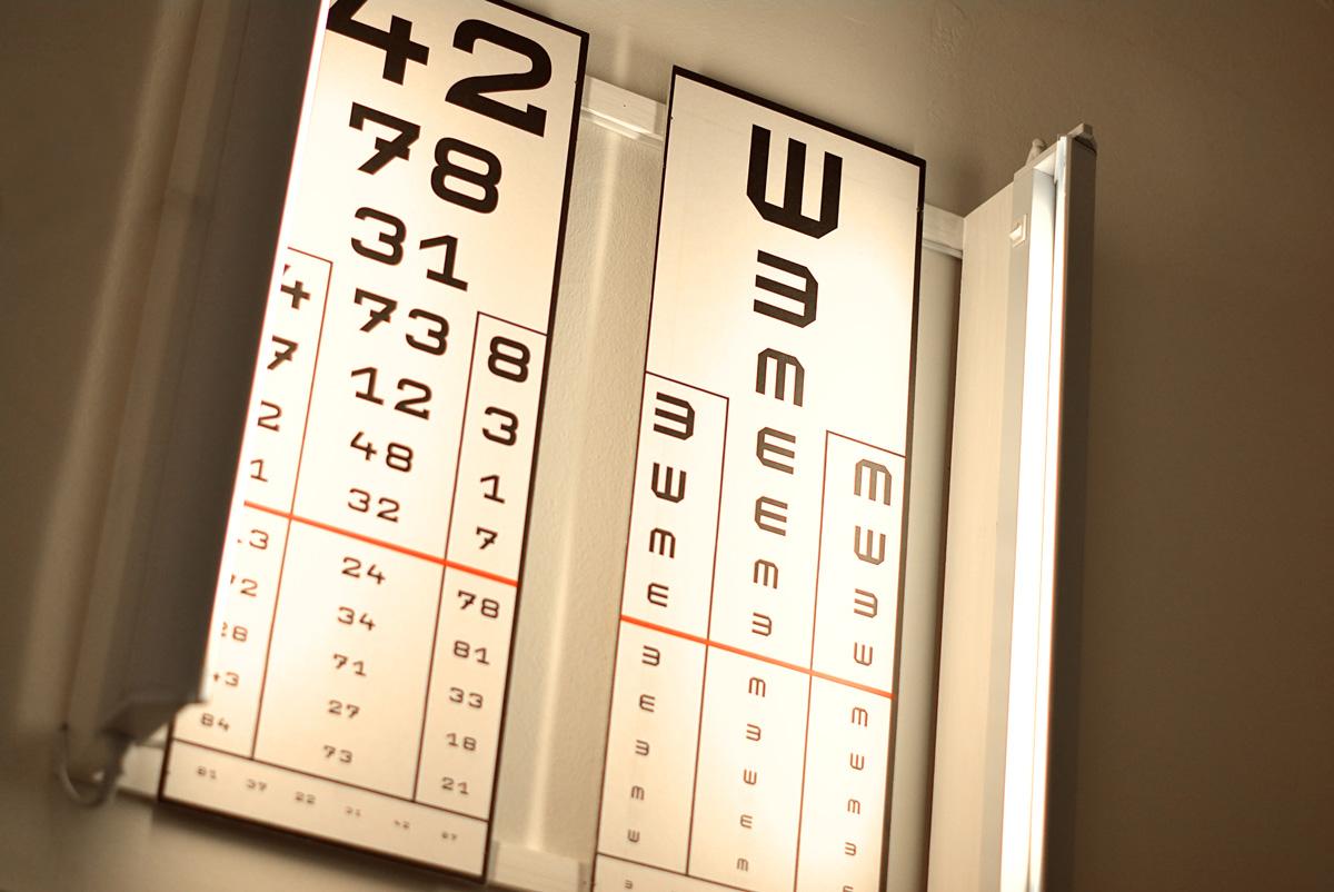 tesztek ellenőrzik a látást)