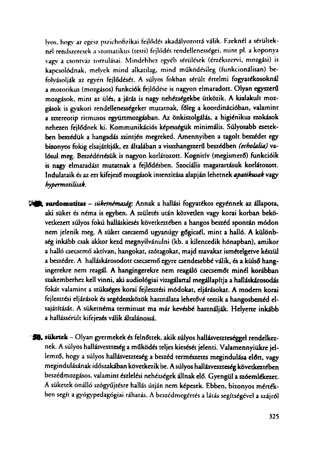 beszéd és látás viszonya)