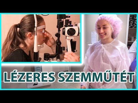 műtét myopia látása