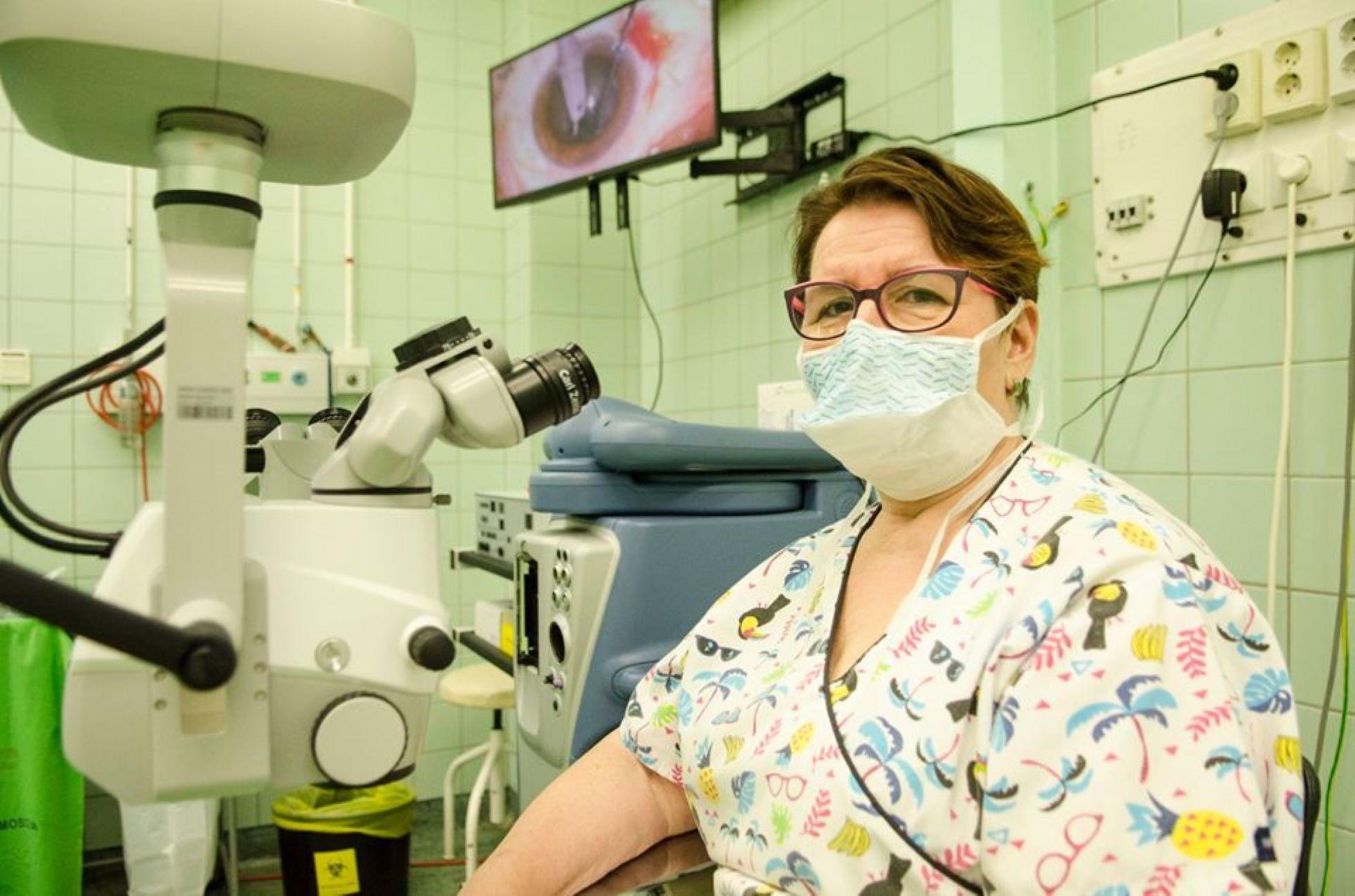 orvosi berendezések szemész számára