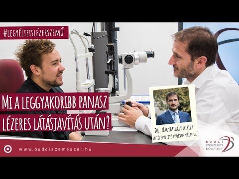 lézeres látásműtét utáni szövődmények)