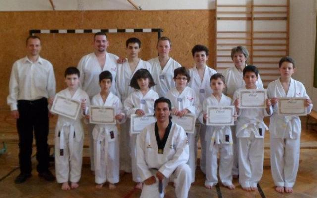 taekwondo és gyenge látás)