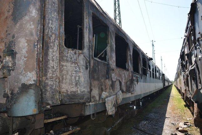 a vonat látványa)
