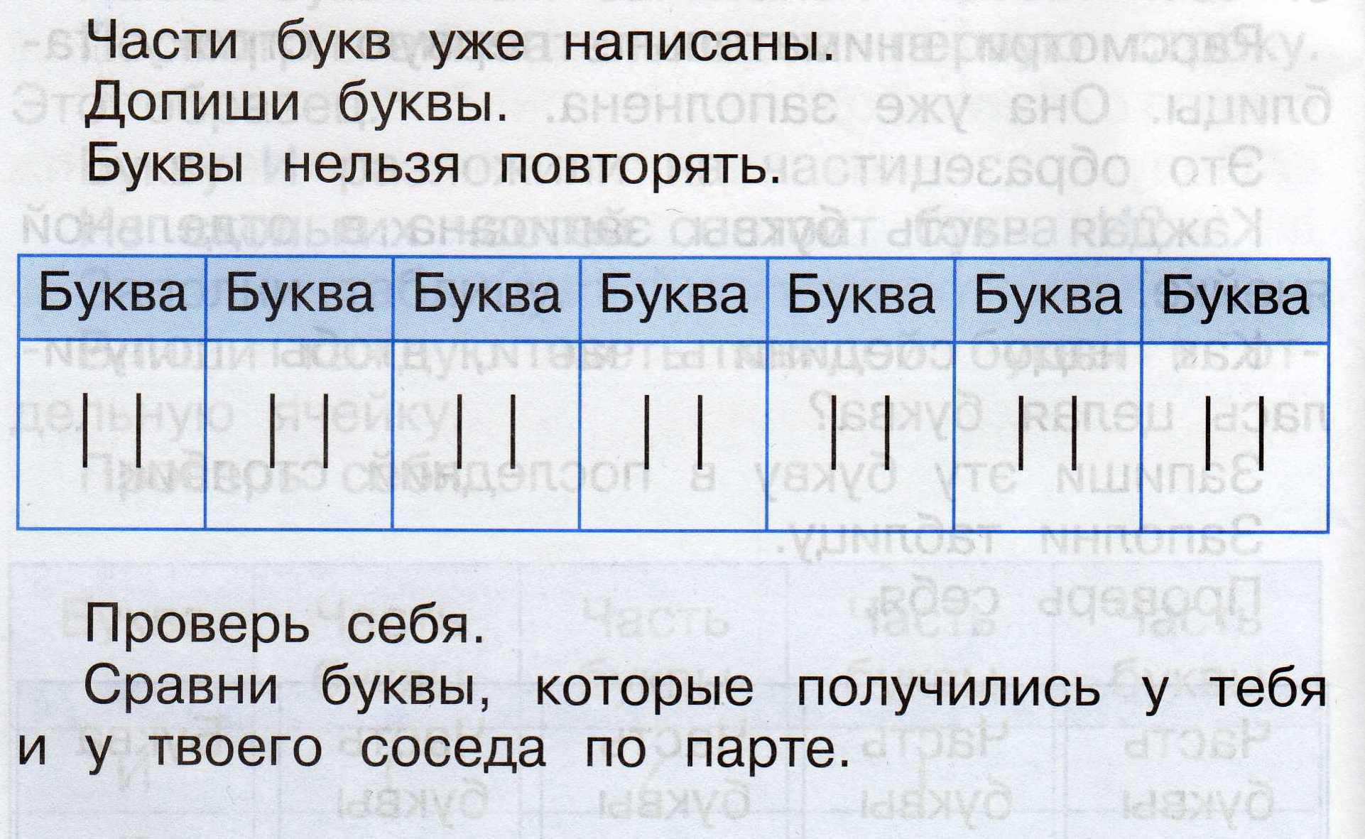 A látásteszt betűi mindig azonosak)