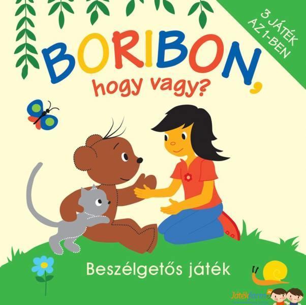 Pagony Boribon, hogy vagy? társasjáték | BRENDON babaáruházak