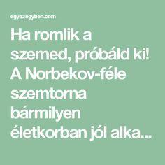 javító látás receptek)