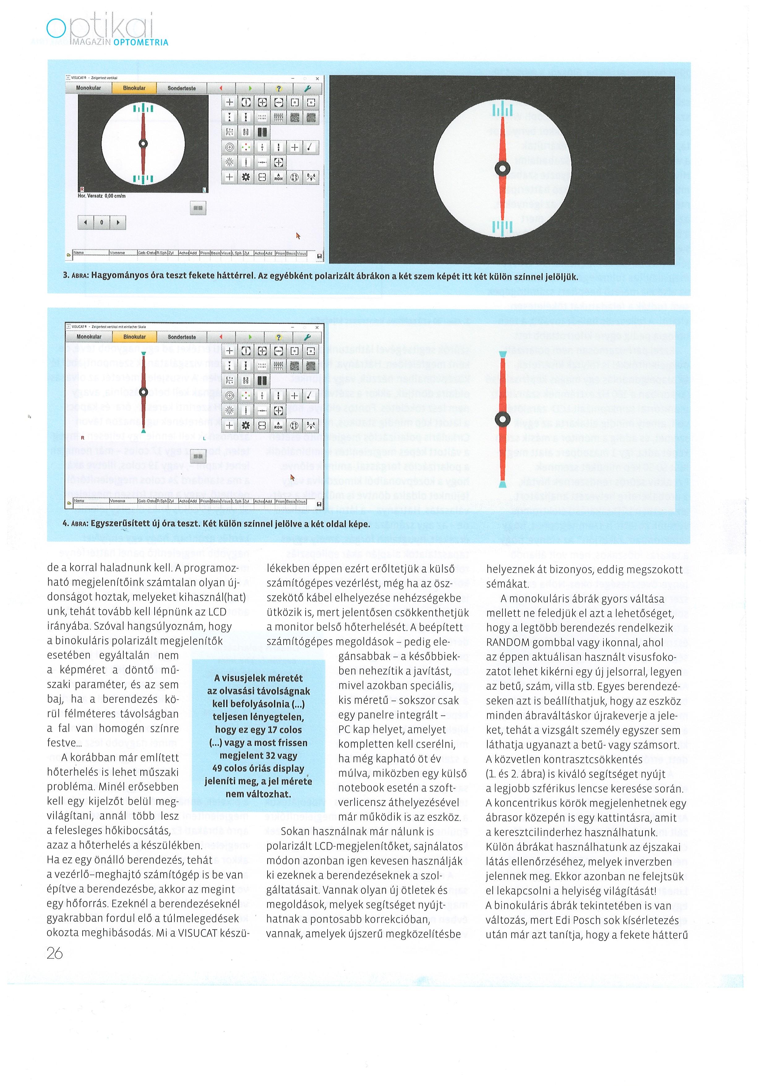 körök látásvizsgálata súlyzós edzés és látás