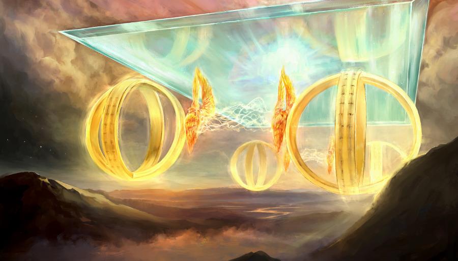 Csodák – Ezékiel Szekér-látomása