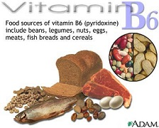 B6 vitamin – piridoxin | Hatóanyag adatbázis