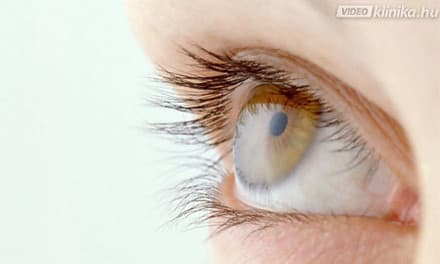 kaleidoszkóp a szem látása előtt