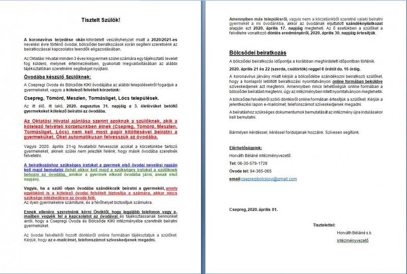 ajánlások a látássérült óvodás szülők számára)