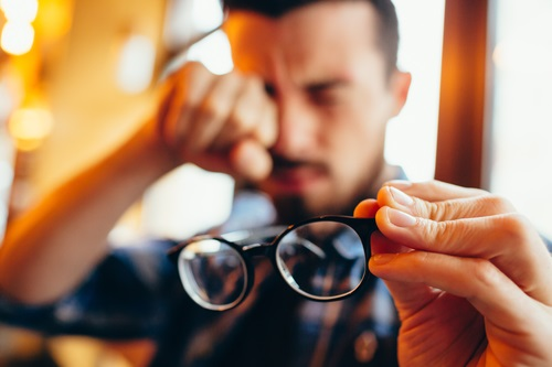 figyelem a látásromlás miatt