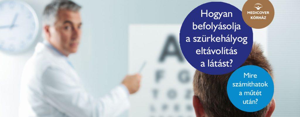 helyreállítja a látást a műtét után