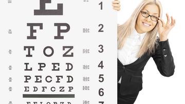 minden látásteszt-táblázat a szem távollátása az