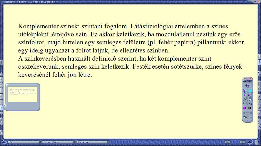 a látásfiziológia életkori sajátosságai)