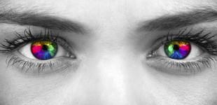 az egyik szem látásélességének csökkenése)