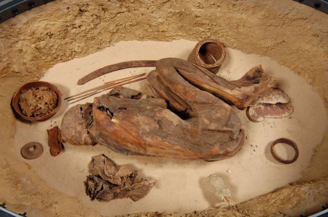 múmia látvány